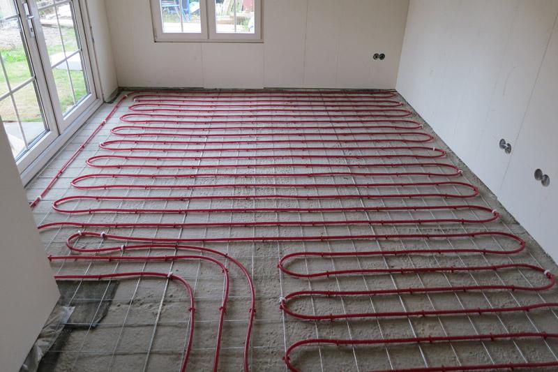 invloed vloerverwarming op cv ketel