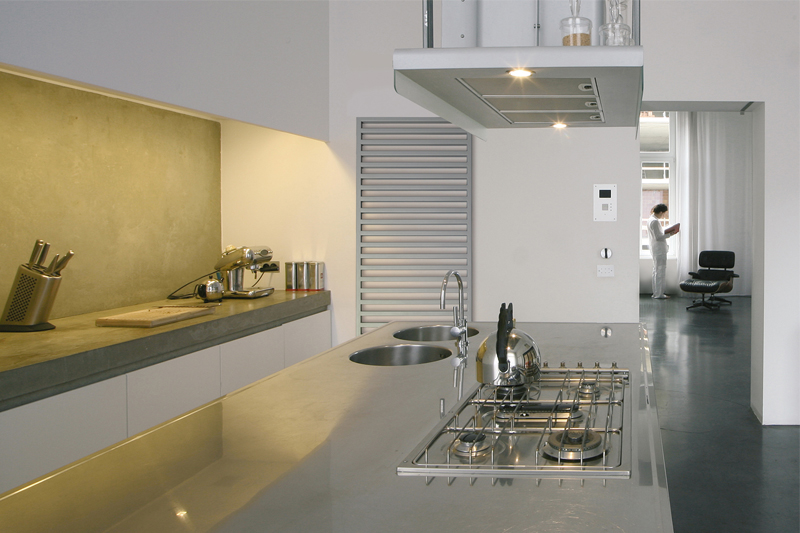 Designradiator Keuken Gamma : het uiterlijk van de radiator belangrijk. De zogenaamde designradiator